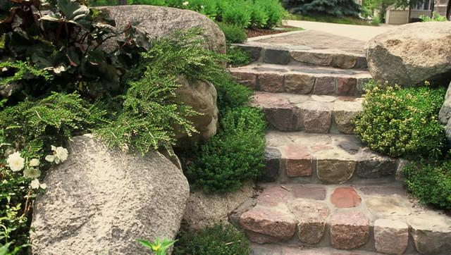 traditional landscape by Clinton & Associates Landscape Architects