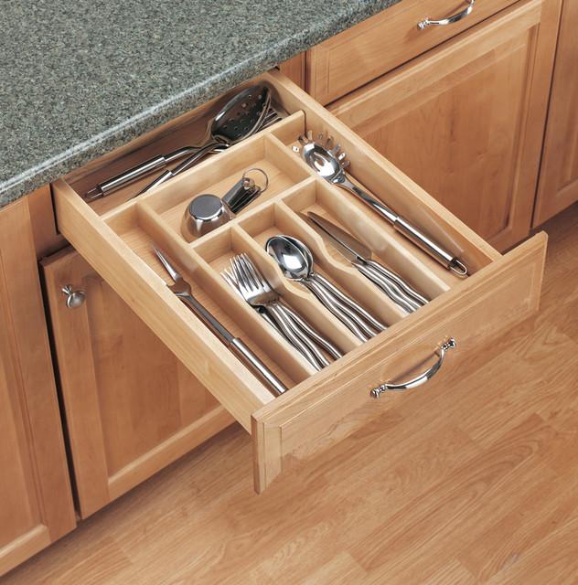 Kitchen Storage Organization Drawer Organizers