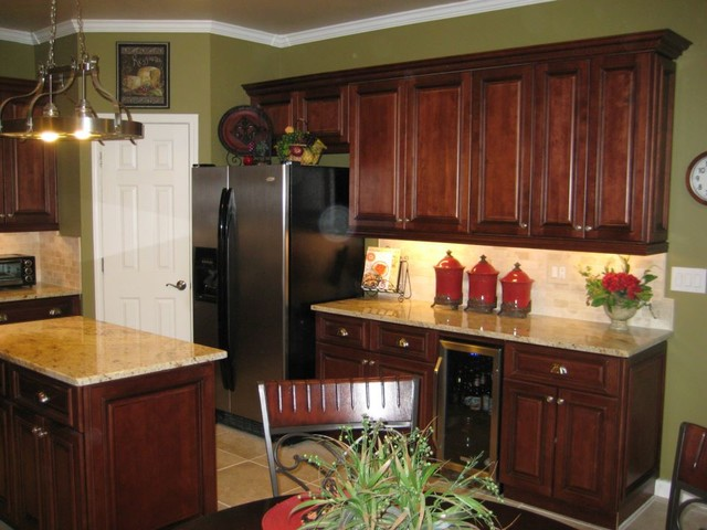 Traditional Kitchen Brandywine Cabinets