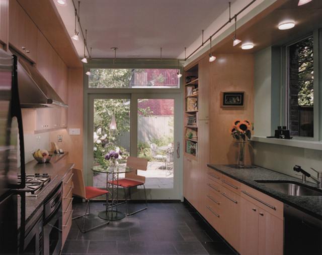 Row House Kitchen And Bath Renovation Contemporary Kitchen Philadelphia By Anthony