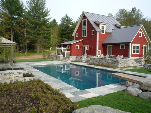 Diving Pool by Vermont Vernacular Designs via Houzz.com