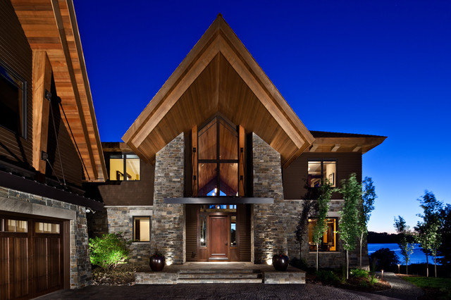 Luxury Tour Home Rustic Exterior Other Metro By