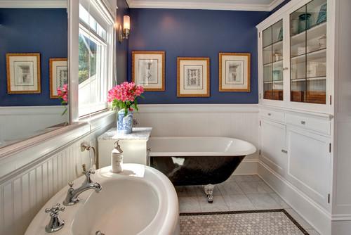 Blue Heron By Benjamin Moore. Craftsman Bathroom ...