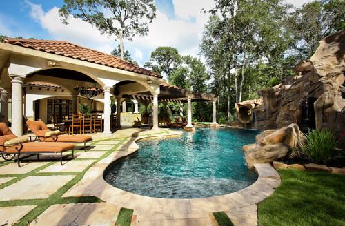Lagoon Pool by Marquise Pools via Houzz.com