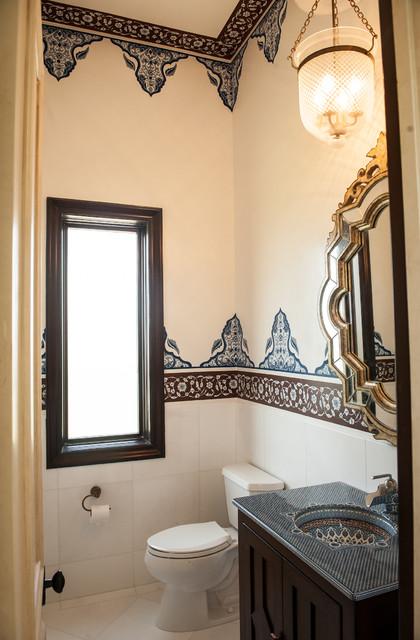 Modern Moroccan Bathroom