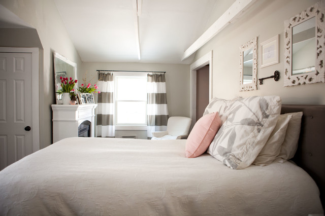 transitional bedroom by Tess Fine