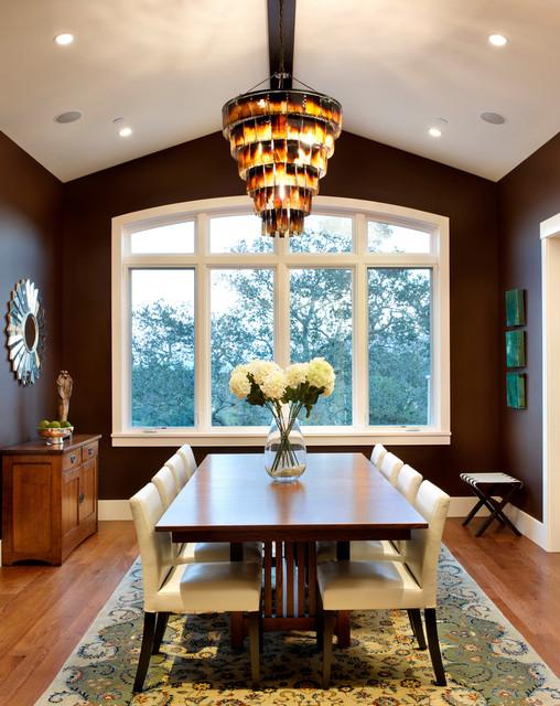 Hillside Estate contemporary dining room
