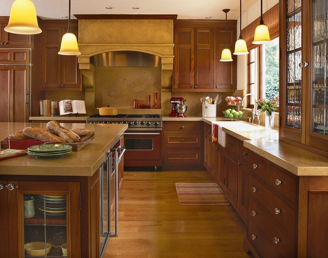 Mediterranean Style Kitchen Home Design And Decor Reviews