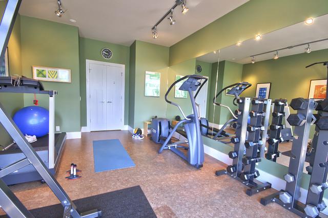 Home Gym traditional home gym
