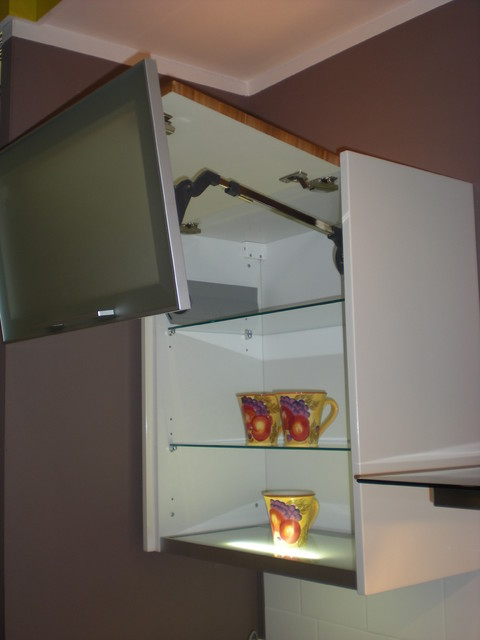 Top Cabinet With Vertical Lift Mechanism Modern