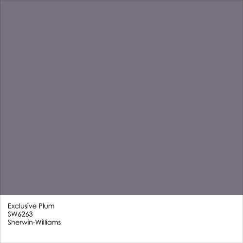 Paint Color Expressive Sherwin Plum Williams