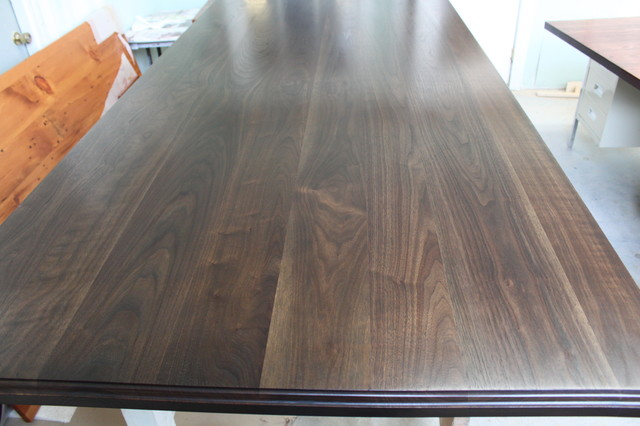 Making Wood Plank Countertops