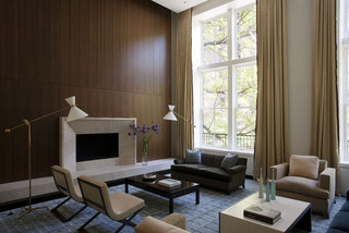 Upper East Side Apartment contemporary-living-room