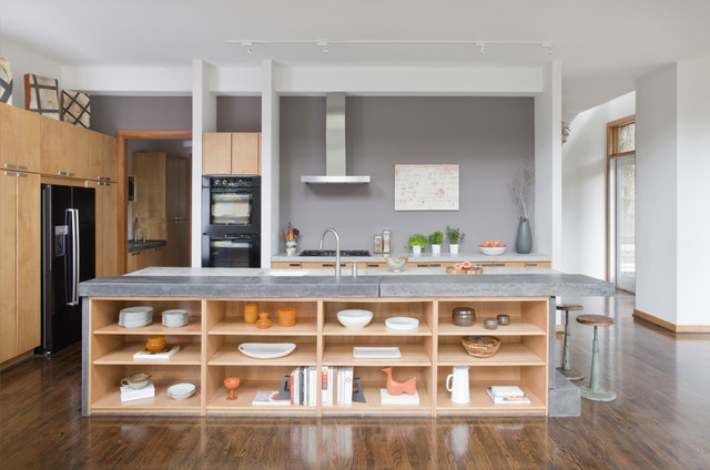 modern kitchen by j witzel interior design