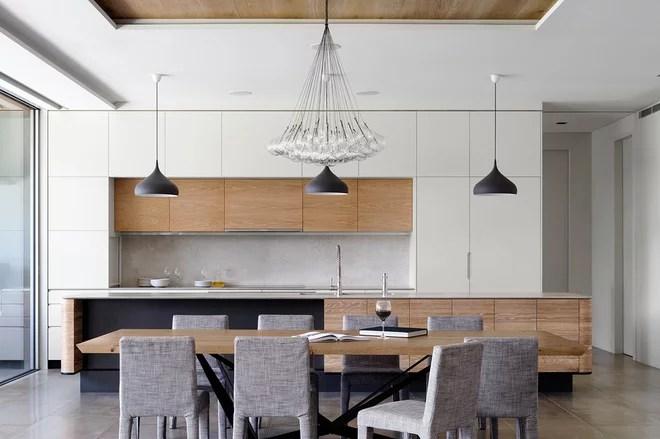 Contemporary Kitchen by Luigi Rosselli Architects