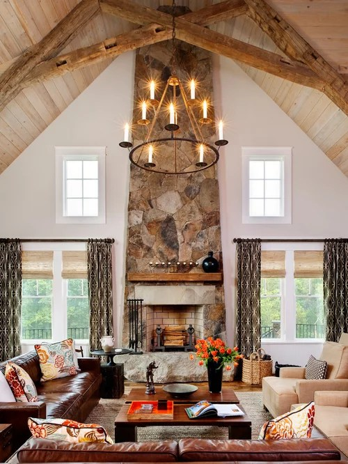 Reclaimed Wood Ceiling Beams Houzz