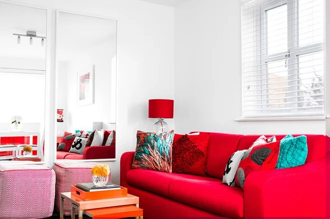 Contemporary Living Room by Bhavin Taylor Design