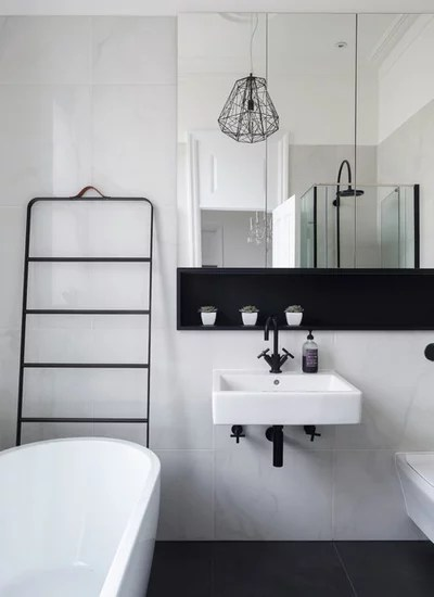 Contemporary Bathroom by Point 5 Kitchens Ltd