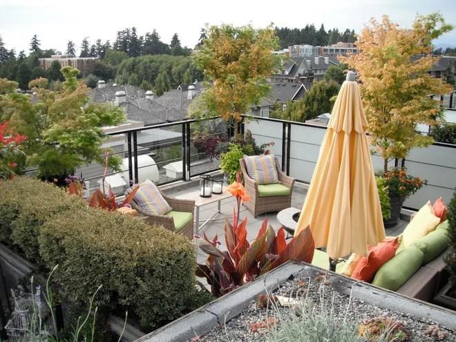 Contemporary Patio by Glenna Partridge Garden Design