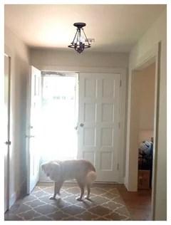 foyer light for low ceiling