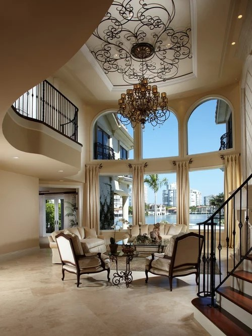 Double Height Ceiling Home Design Ideas Pictures Remodel