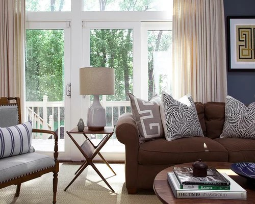 Modern White Leather Living Room Furniture Rooms With Brown