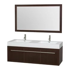 60-inch bathroom vanities | houzz
