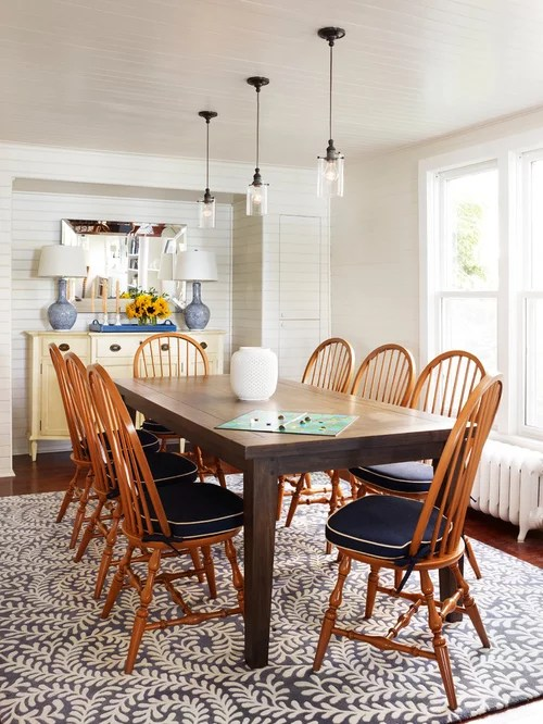Navy Blue Chairs Houzz