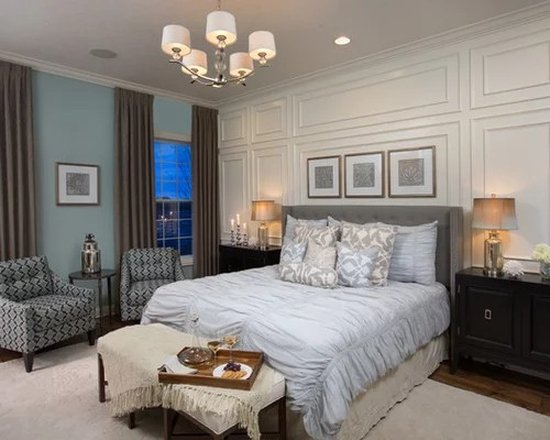 Master Bedroom Feature Wall Design Ideas & Remodel
