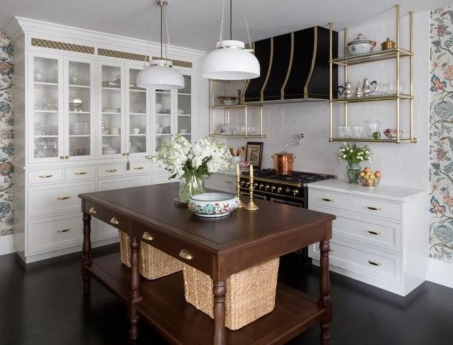 Traditional Kitchen by Summer Thornton Design, Inc