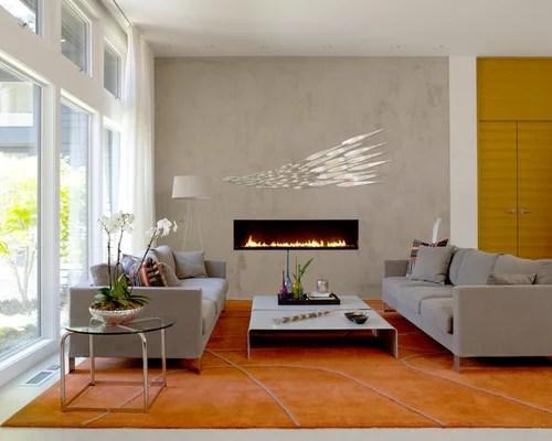 Linear Gas Fireplace Houzz