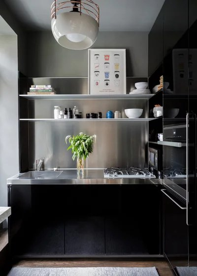 Contemporary Kitchen by Lucy Harris Studio