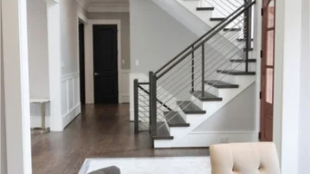 Best 15 Stair And Railing Contractors Near You Houzz   Handrail Companies Near Me   Metal   Glass Handrail   Staircase   Deck Railing   Stair Treads