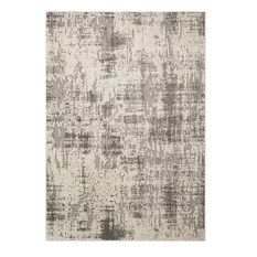 Michael Amini Gleam Area Rug Ivory/Gray 7'10x10'6