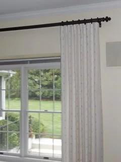 curtain rod diameter