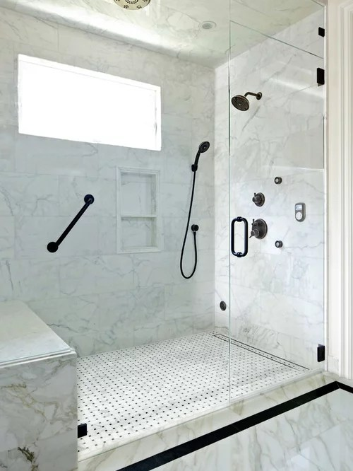 Accent Shower Tile Ideas