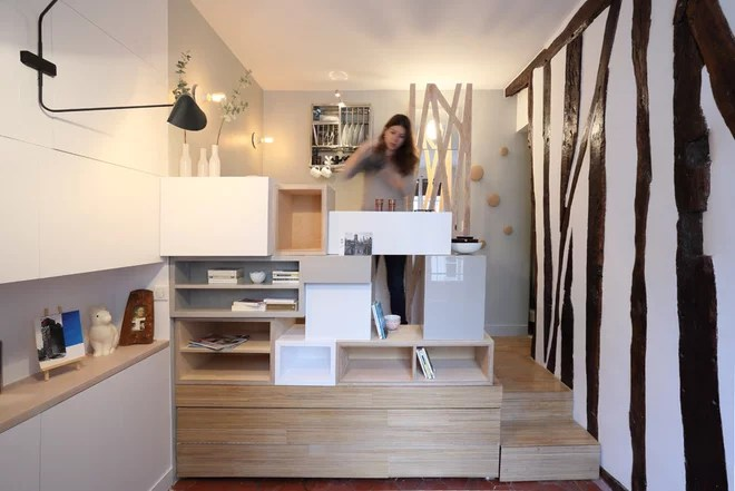 Contemporáneo Cocina by Julie Nabucet Architectures