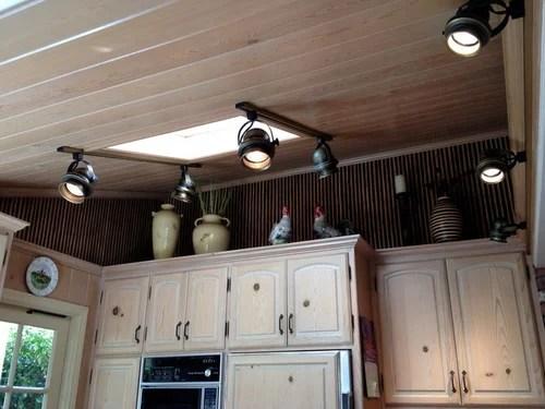 sloped ceiling lighting ideas