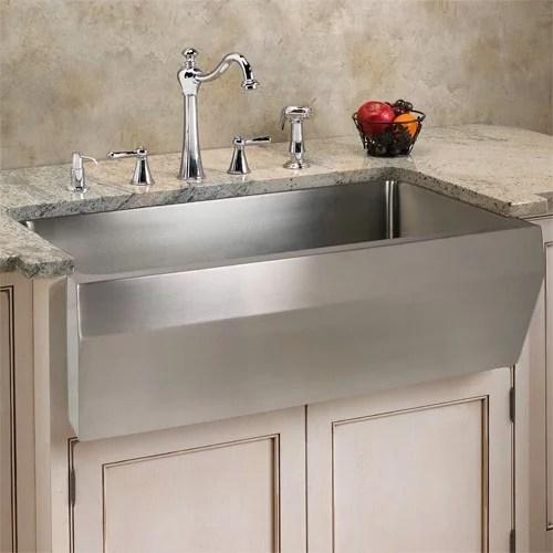 stainless steel sinks versus fireclay