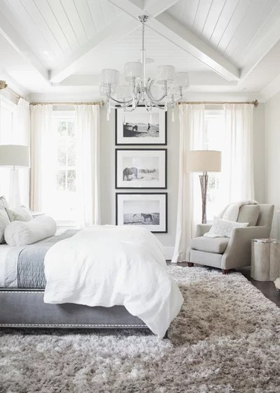 Transitional Bedroom by Set To Sell, LLC
