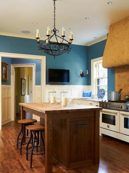 Blue Kitchen Walls Ideas Pictures Remodel And Decor