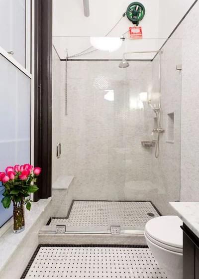 Modern Bathroom by Rikki Snyder