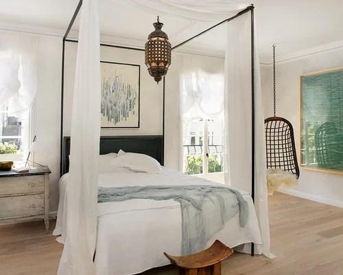 Sunburst Mirror Above Bed Bhg