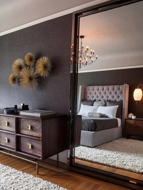 Modern Bedroom Design Ideas, Remodels & Photos with Black ...