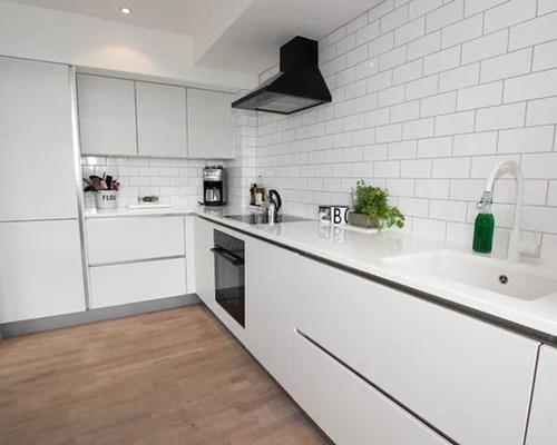 Small White Kitchen Houzz