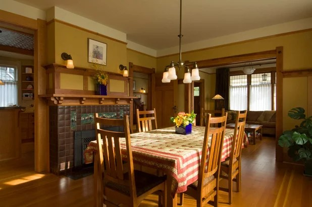 Traditional Dining Room by David Coulson Design Ltd.