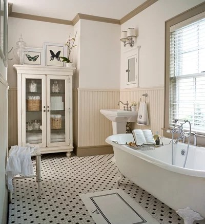 Traditional Bathroom by Abby Suzanne Interiors