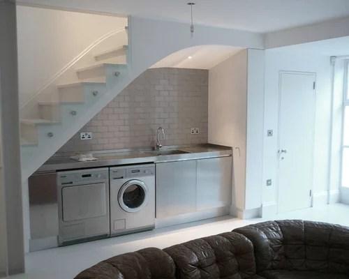 Laundry Under Stairs Houzz
