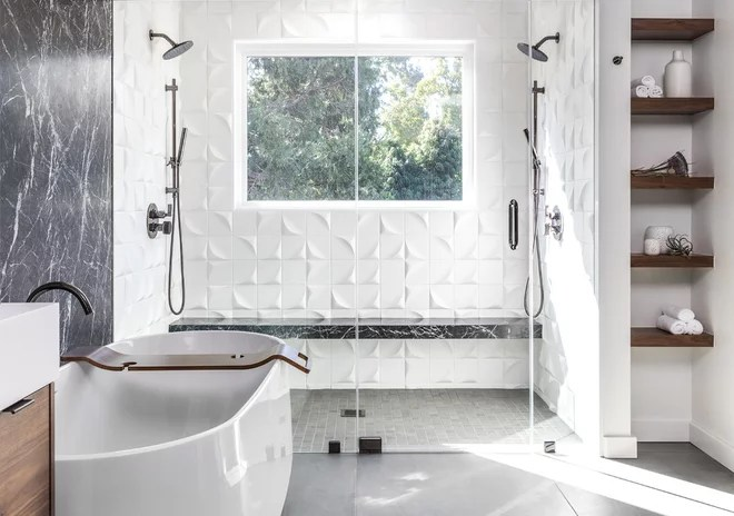 Contemporary Bathroom by Andrew Turner Construction Inc.