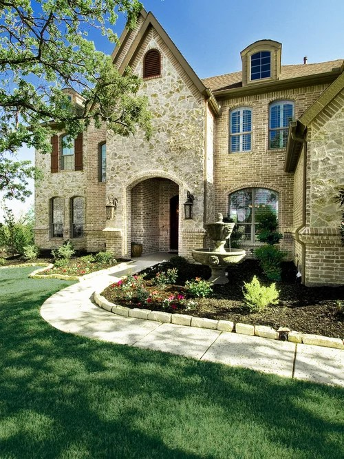 Brick And Stone Exterior Houzz